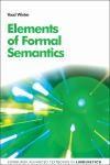 Abbildung von Winter | Elements of Formal Semantics | 2016