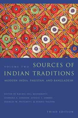 Abbildung von McDermott / Gordon / Embree / Pritchett / Dalton | Sources of Indian Traditions | 2014