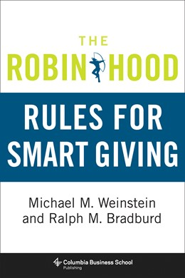 Abbildung von Weinstein / Bradburd | The Robin Hood Rules for Smart Giving | 2013