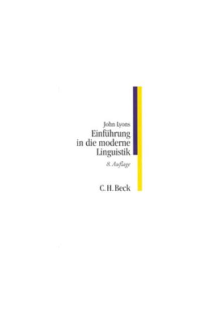 Cover: John Lyons, Einführung in die moderne Linguistik
