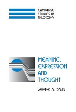 Abbildung von Davis | Meaning, Expression and Thought | 2002