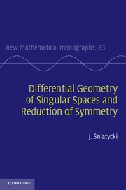 Abbildung von Sniatycki | Differential Geometry of Singular Spaces and Reduction of Symmetry | 2013