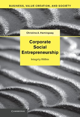 Abbildung von Hemingway | Corporate Social Entrepreneurship | 2013 | Integrity Within