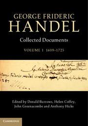 Abbildung von Burrows / Coffey / Greenacombe / Hicks | George Frideric Handel: Volume 1, 1609–1725 | 2014