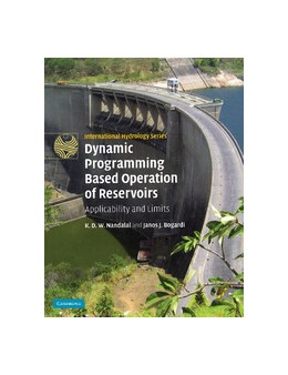 Abbildung von Nandalal / Bogardi | Dynamic Programming Based Operation of Reservoirs | 2013 | Applicability and Limits