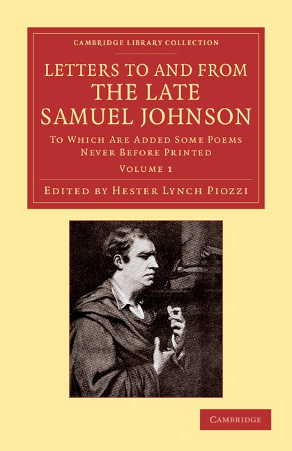 Abbildung von Johnson / Piozzi | Letters to and from the Late Samuel Johnson, LL.D. | 2013