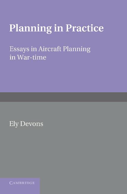 Abbildung von Devons | Planning in Practice | 2013