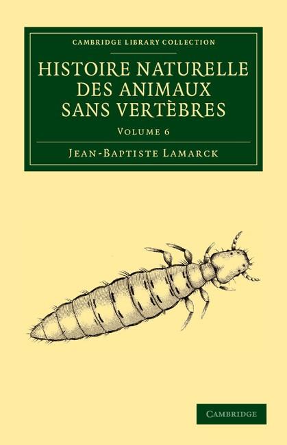 Abbildung von Lamarck | Histoire naturelle des animaux sans vertèbres | 2013