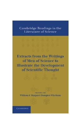 Abbildung von Dampier-Whetham | Cambridge Readings in the Literature of Science | 2013