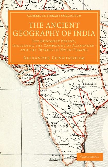 Abbildung von Cunningham   The Ancient Geography of India   2013