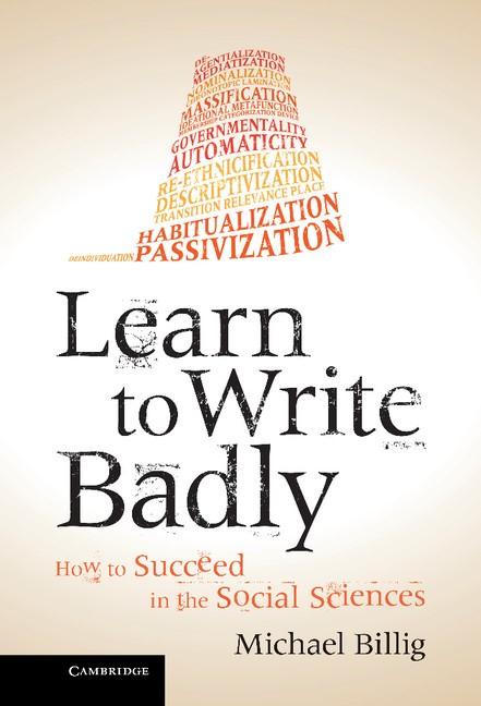 Abbildung von Billig | Learn to Write Badly | 2013