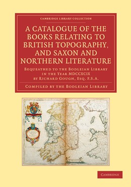 Abbildung von A Catalogue of the Books Relating to British Topography, and Saxon and Northern Literature | 2013