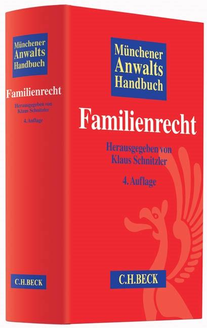 Münchener Anwaltshandbuch Familienrecht | 4., überarbeitete und erweiterte Auflage, 2014 | Buch (Cover)