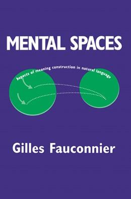 Abbildung von Fauconnier | Mental Spaces | 1994 | Aspects of Meaning Constructio...
