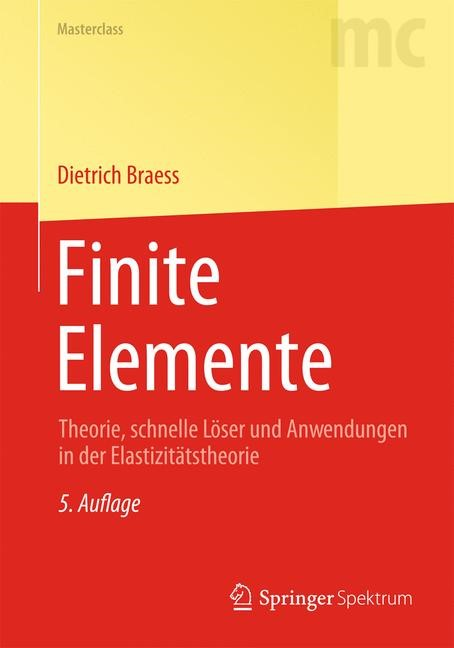 Finite Elemente | Braess, 2013 | Buch (Cover)