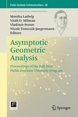 Abbildung von Ludwig / Milman | Asymptotic Geometric Analysis | 1. Auflage | 2013 | 68 | beck-shop.de