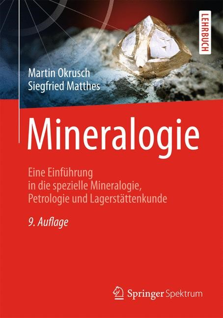 Mineralogie | Okrusch / Matthes, 2014 | Buch (Cover)
