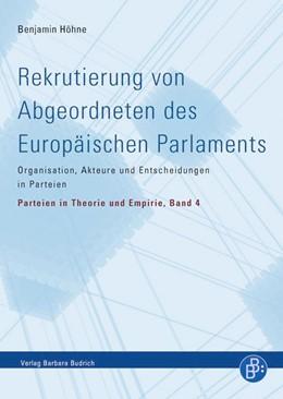 Abbildung von Höhne | Rekrutierung von Abgeordneten des Europäischen Parlaments | 1. Auflage | 2013 | 4 | beck-shop.de