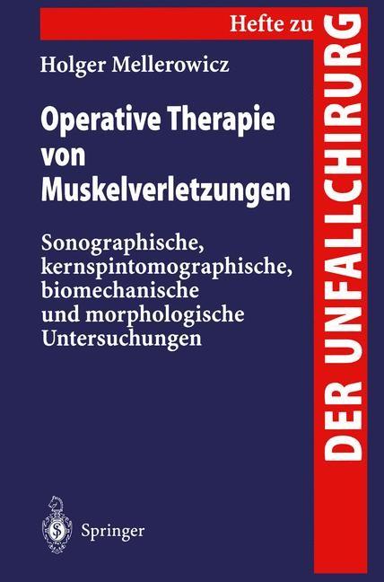 Abbildung von Mellerowicz   Operative Therapie von Muskelverletzungen   1996