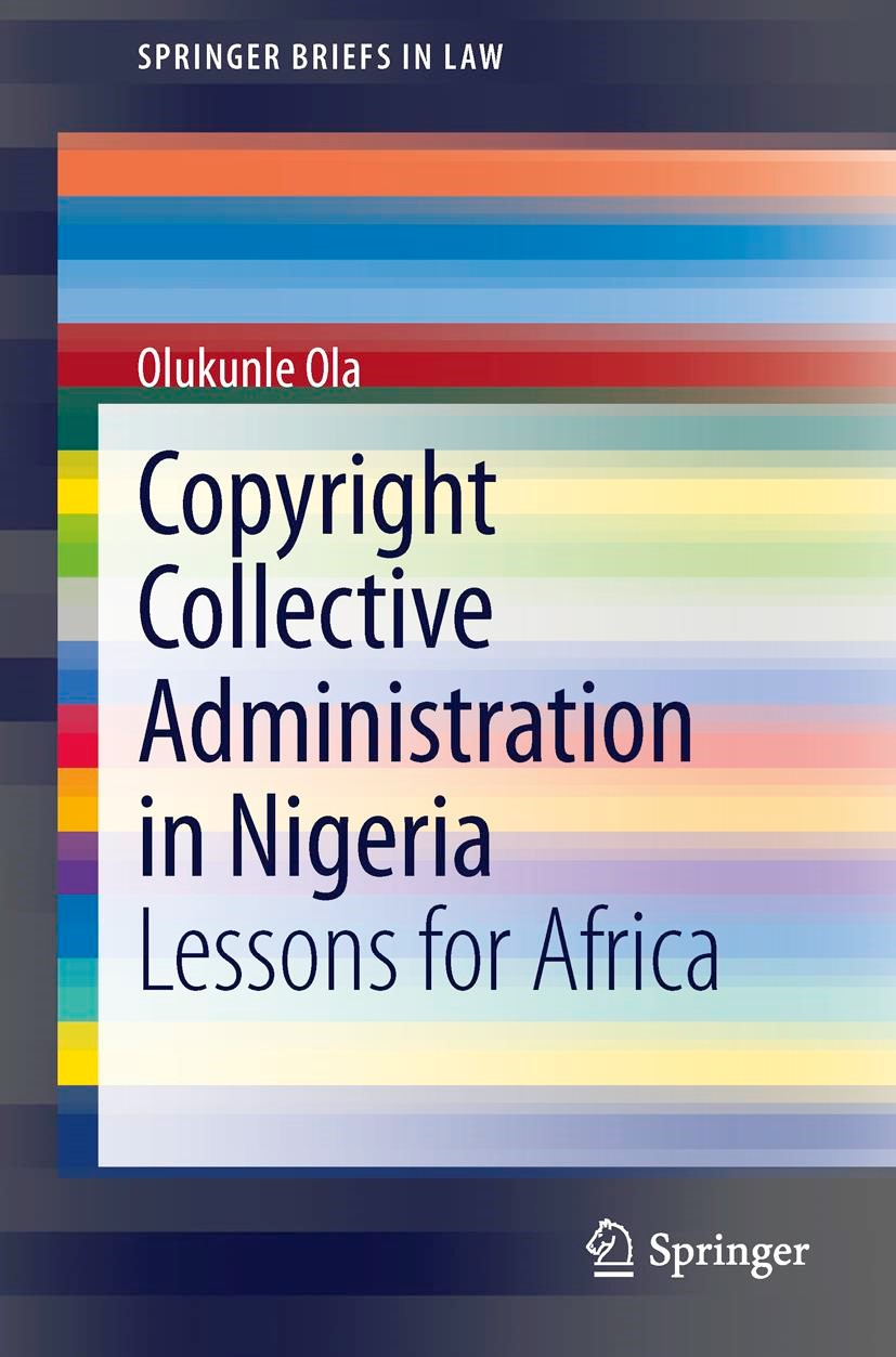 Copyright Collective Administration in Nigeria | Ola, 2013 | Buch (Cover)
