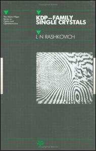 Abbildung von Rashkovich   KDP - Family Single Crystals   1991