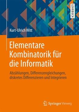 Abbildung von Witt | Elementare Kombinatorik für die Informatik | 2013 | 2013 | Abzählungen, Differenzengleich...