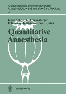 Abbildung von Ackern / Frankenberger / Konecny / Steinbereithner   Quantitative Anaesthesia   1989   Low Flow and Closed Circuit   204