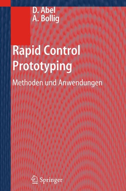 Rapid Control Prototyping | Abel / Bollig, 2012 | Buch (Cover)
