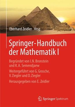 Abbildung von Zeidler | Springer-Handbuch der Mathematik I | 2013 | Begründet von I.N. Bronstein u...