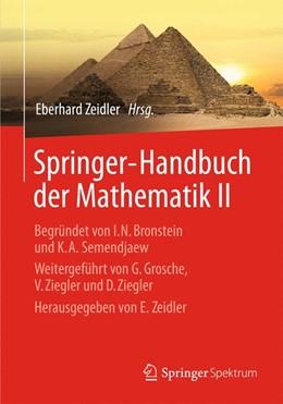 Abbildung von Zeidler | Springer-Handbuch der Mathematik II | 2013 | Begründet von I.N. Bronstein u...