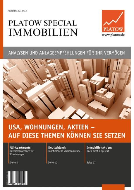 PLATOW Special Immobilien | Schirmacher, 2012 | Buch (Cover)
