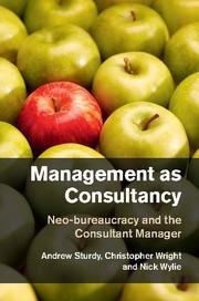 Abbildung von Sturdy / Wright / Wylie | Management as Consultancy | 2015
