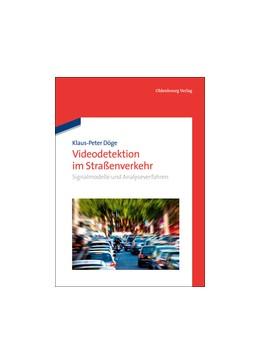 Abbildung von Döge   Videodetektion im Straßenverkehr   2013   Signalmodelle und Analyseverfa...