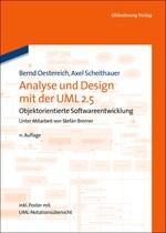 Analyse und Design mit der UML 2.5   Oestereich / Scheithauer   11., umfassend überarbeitete und aktualisierte Auflage, 2013   Buch (Cover)