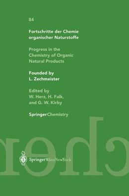 Abbildung von Glasenapp-Breiling / Jagtap / Kingston | Progress in the Chemistry of Organic Natural Products / Fortschritte der Chemie organischer Naturstoffe | 2002 | 84