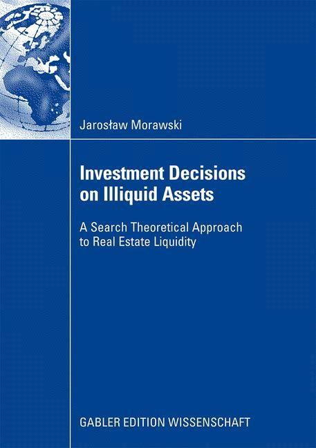 Investment Decisions on Illiquid Assets | Morawski, 2008 | Buch (Cover)