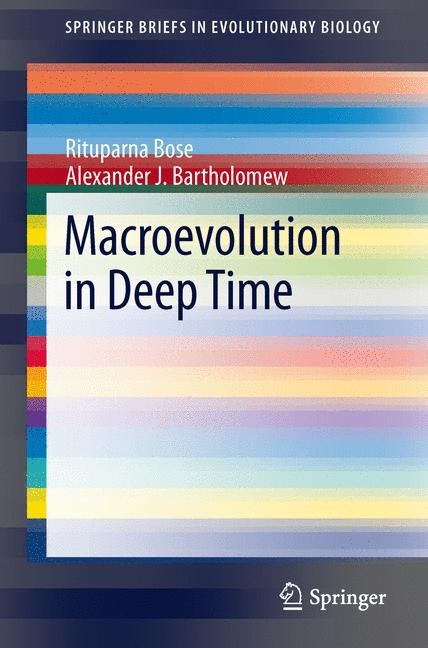 Macroevolution in Deep Time | Bose / Bartholomew, 2013 | Buch (Cover)