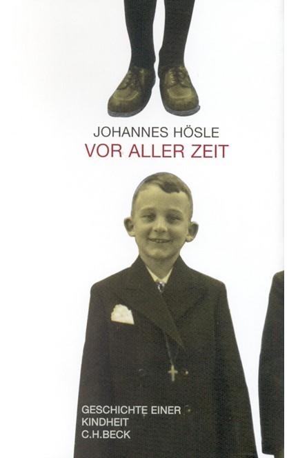 Cover: Johannes Hösle, Vor aller Zeit