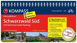 Abbildung von Pollmann | Schwarzwald Süd mit Südschwarzwald Radweg | 1. Auflage | 2013 | Fahrradführer mit Routenkarten...