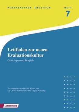 Abbildung von Börner / Lohmann | Neue Evaluationskultur - Perspektiven | 2009 | Grundlagen und Beispiele: exer...