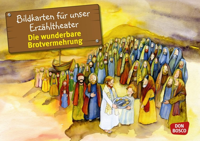 Bildkarten für unser Erzähltheater: Die wunderbare Brotvermehrung | Brandt, 2013 (Cover)