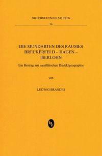 Die Mundarten des Raumes Breckerfeld – Hagen – Iserlohn | Brandes, 2013 | Buch (Cover)