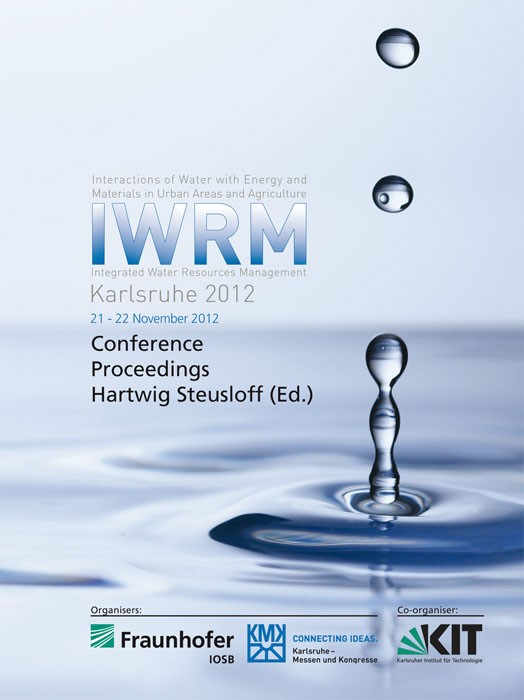 IWRM Karlsruhe 2012. Integrated Water Resources Management | / Steusloff, 2012 | Buch (Cover)