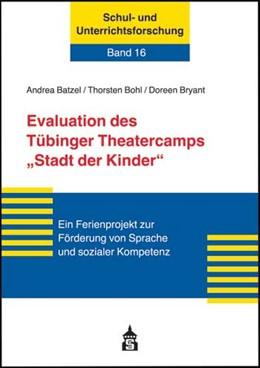 Abbildung von Bohl / Batzel / Bryant | Evaluation des Tübinger Theatercamps