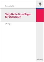 Statistische Grundlagen für Ökonomen | Bradtke | überarbeitete Auflage, 2007 | Buch (Cover)
