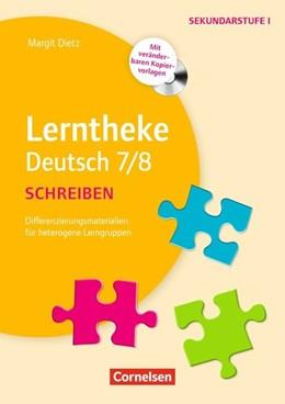 Abbildung von Dietz | 7./8. Schuljahr - Schreiben | 2013 | Kopiervorlagen mit CD-ROM