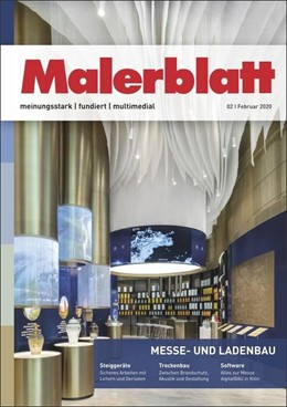 Abbildung von Malerblatt | 91. Jahrgang | 2020 | Zeitschrift für das Maler- und...