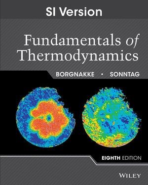 Fundamentals of Thermodynamics | Borgnakke / Sonntag, 2013 (Cover)