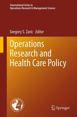 Abbildung von Zaric | Operations Research and Health Care Policy | 2013 | 190