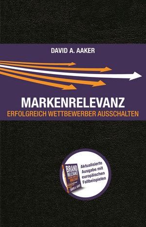 Markenrelevanz | Aaker | 1. Auflage 2013, 2013 | Buch (Cover)